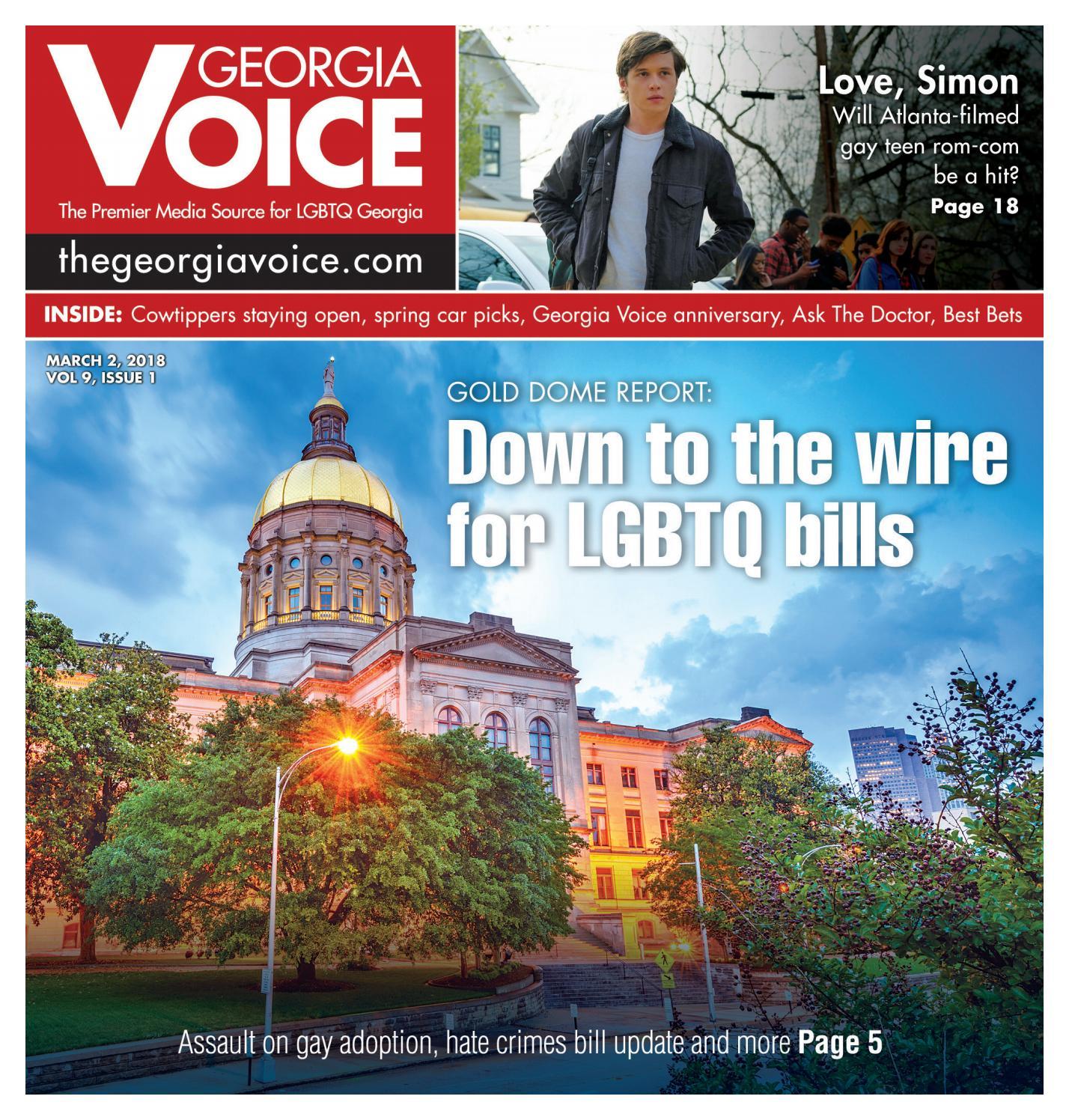 03/02/18, Vol. 9 Issue 1 by Georgia Voice - issuu