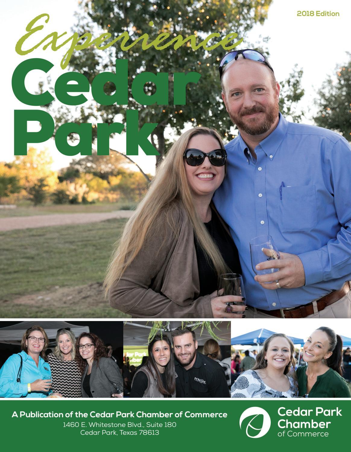 2018 Experience Cedar Park by Cedar Park Chamber of Commerce - issuu
