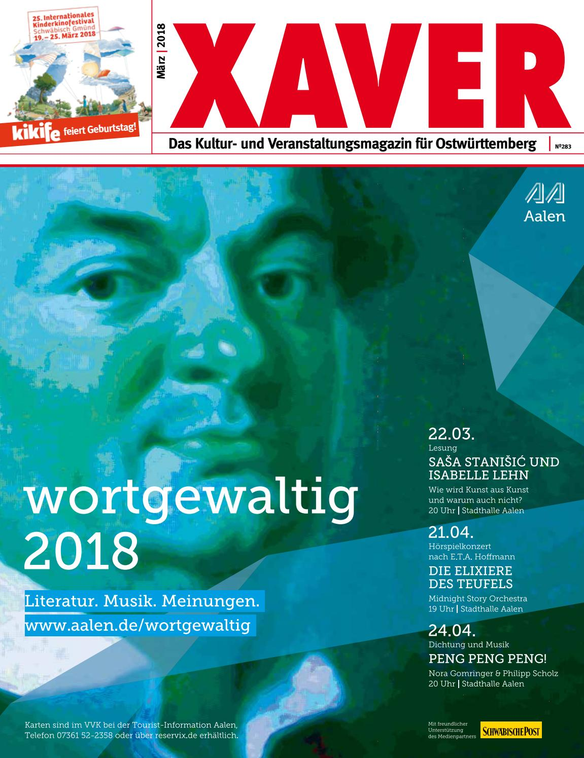 XAVER 03 | 2018 by Hariolf Erhardt - issuu