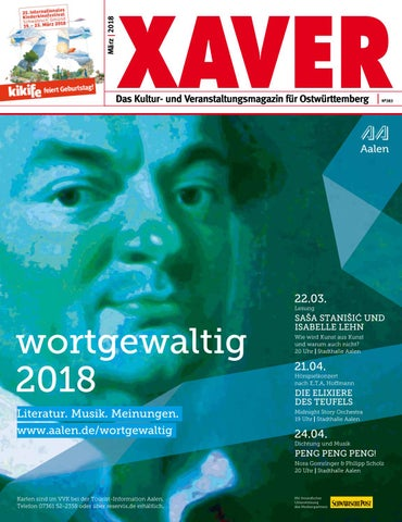 Xaver 03 2018 By Hariolf Erhardt Issuu