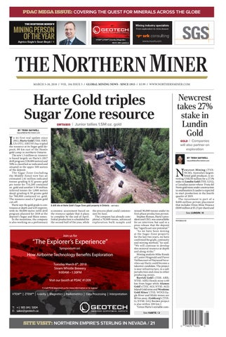 The Northern Miner March 5 2018 Issue by The Northern Miner