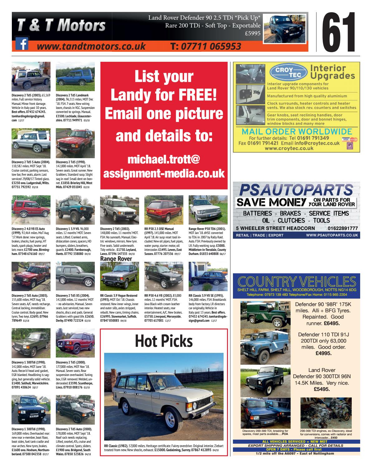 The Landy April 18 by Assignment Media Ltd - issuu