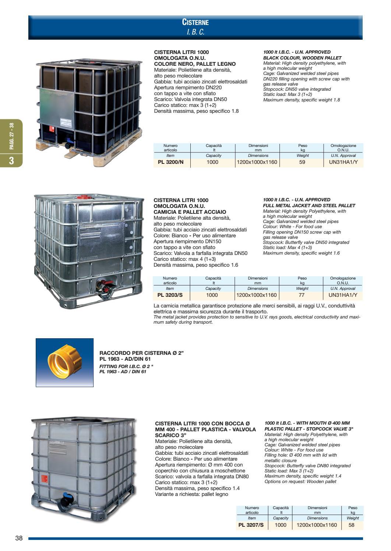 Cisterne Con Gabbia Metallica.Contenitori In Plastica By Gruppo Rappresentanze Industriali