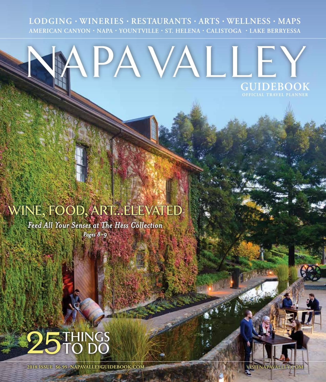 The Official Napa Valley Visitors Guide By Visit Napa Valley - Napa valley winery map and trip planner