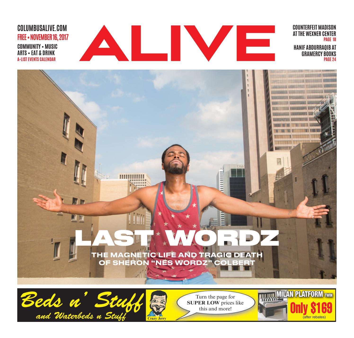 Columbus Alive Last Wordz Nov 16 2017 By The Columbus Dispatch Issuu