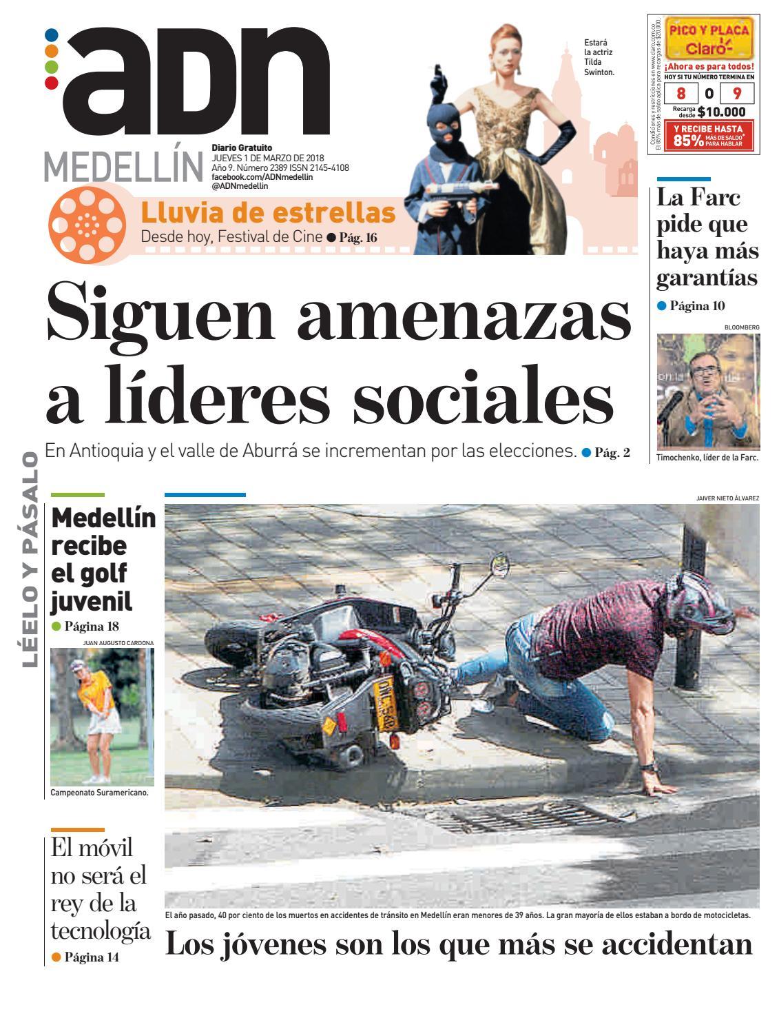 1 de marzo Medellín by diarioadn.co - issuu
