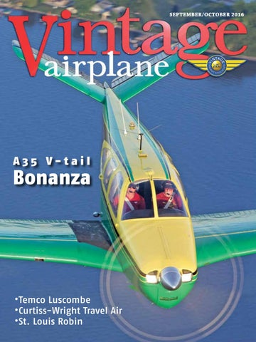 Va vol 44 no 5 sep oct 2016 by EAA Vintage Aircraft Association - issuu