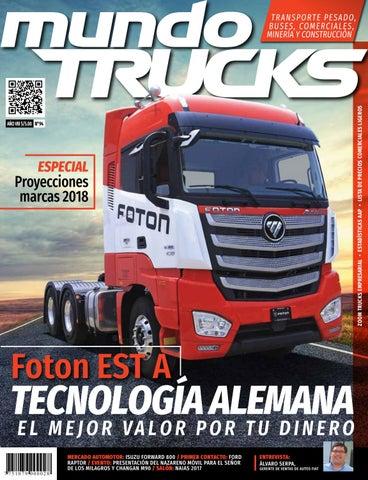 2577b4bee Revista Mundo Trucks N° 94 by MundoTuerca - issuu