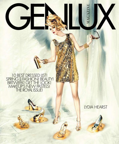 GENLUX LYDIA HEARST by GENLUX - issuu 4349a43c174