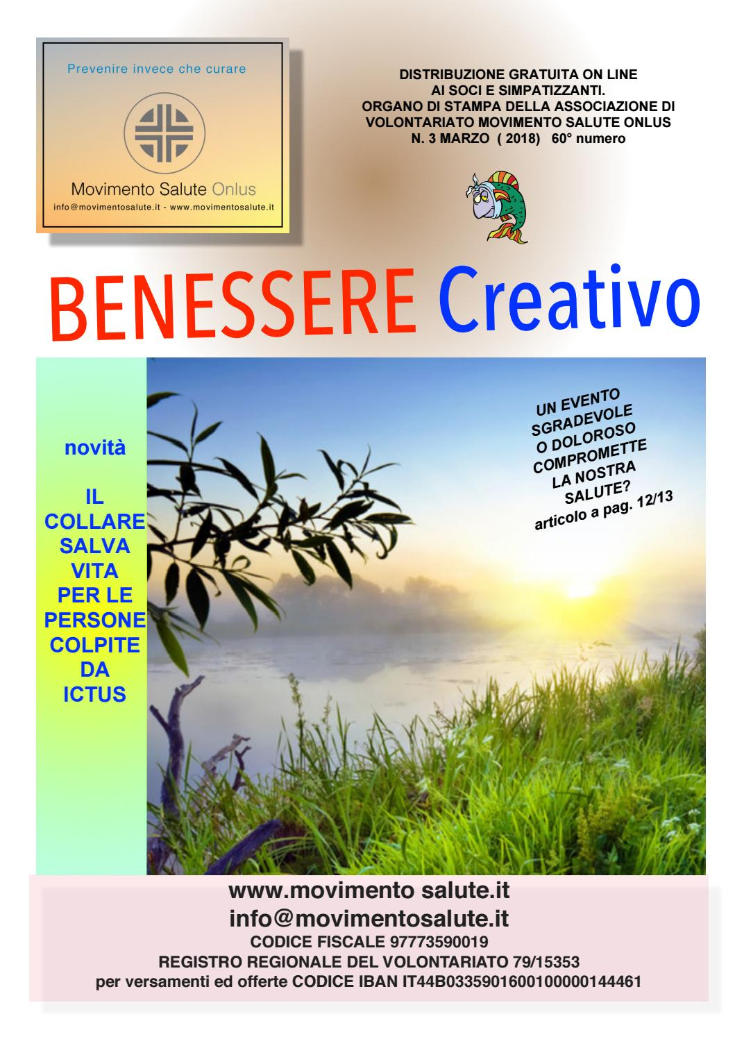 Benessere Creativo Marzo 2018 By Info Movimentosalute It Issuu