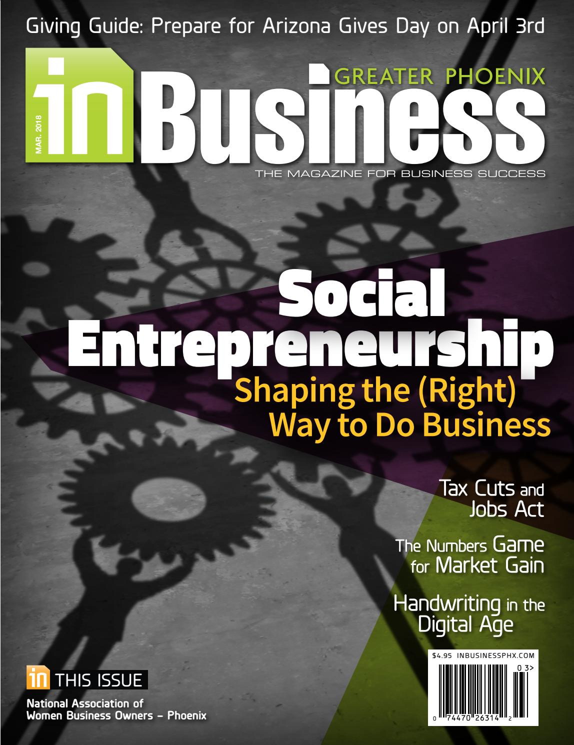 March 2018 Issue of In Business Magazine by InMedia - issuu