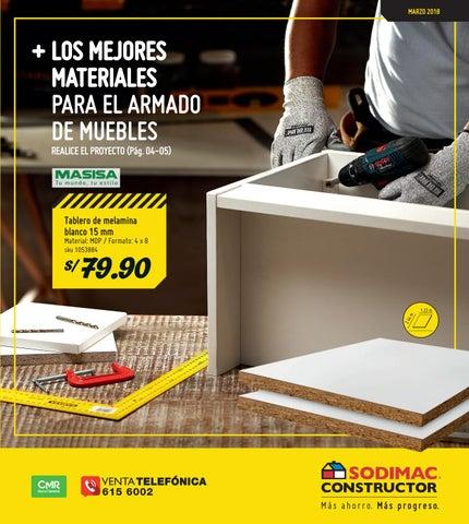 Catalogo Constructor Marzo 2018 By Sodimac Peru Issuu