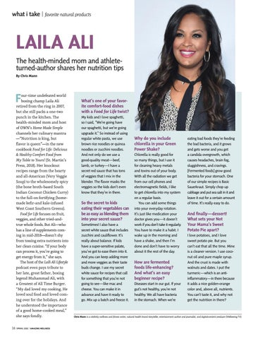 Page 18 of What I Take: Laila Ali