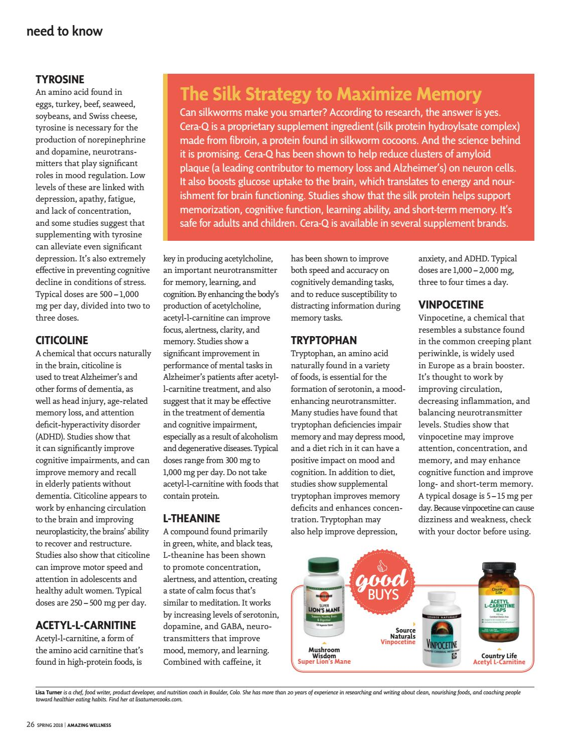 Aw march april 2018 by Active Interest Media/Healthy Living
