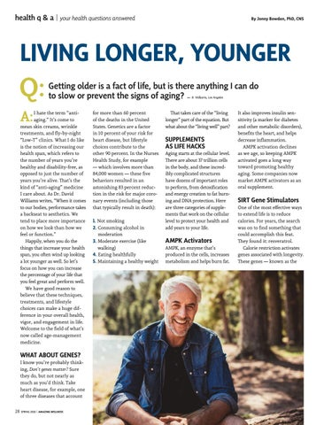 Page 30 of Living Longer, Younger