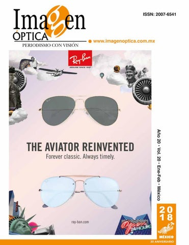 ae1d2a5435 Revista Mayo Junio 2018 by Imagen Optica - issuu