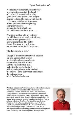 Tipton Poetry Journal #36 by Tipton Poetry Journal - issuu