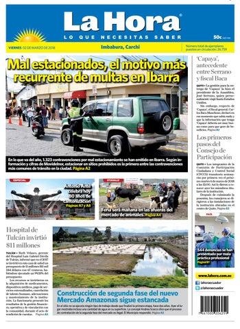 Imbabura 02 de marzo de 2018 by Diario La Hora Ecuador - issuu a70080c5a7f