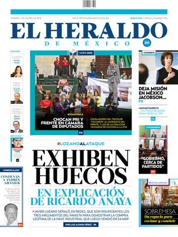 52202a9503926 El Heraldo de México 02 de marzo de 2018 by El Heraldo de México - issuu