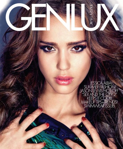 add8ac14996 GENLUX - JESSICA ALBA by GENLUX - issuu