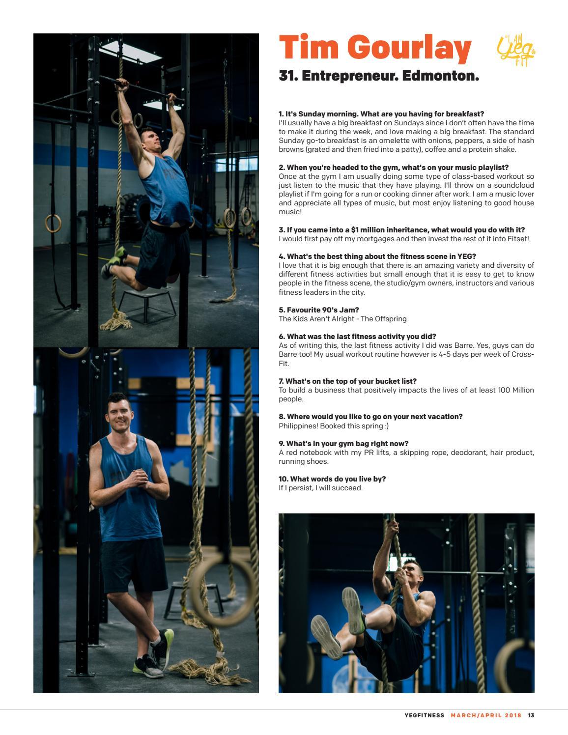YEGFITNESS - Mar Apr 2018 by YEG Fitness - issuu f75948acb2995