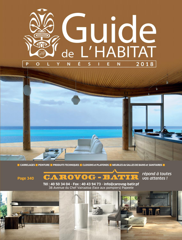 Guide de l Habitat Polynésien 2018 by Mediapol - issuu 327420e8ded