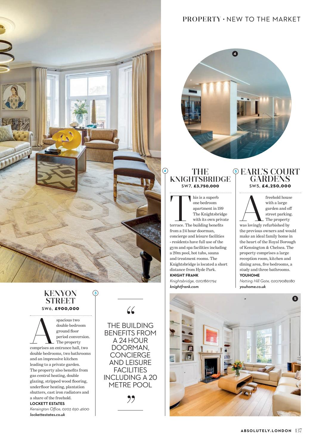 Absolutely Chelsea Fulham Nottinghill Kensington March 2018 By Zest Media London Issuu