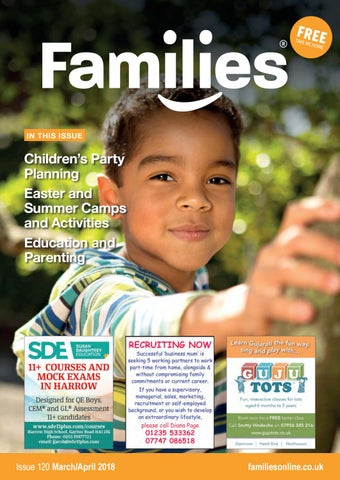 68bccb16 Families NW London Magazine Mar/Apr 2018 issue 120 by Heather ...