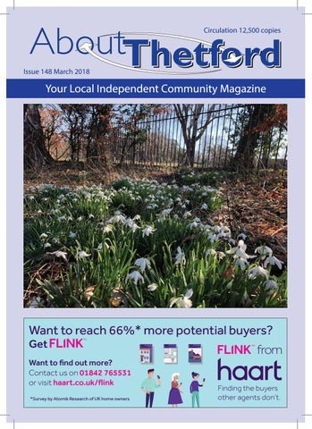 MARCH 2018 About Thetford magazine by Terry Jermy - issuu