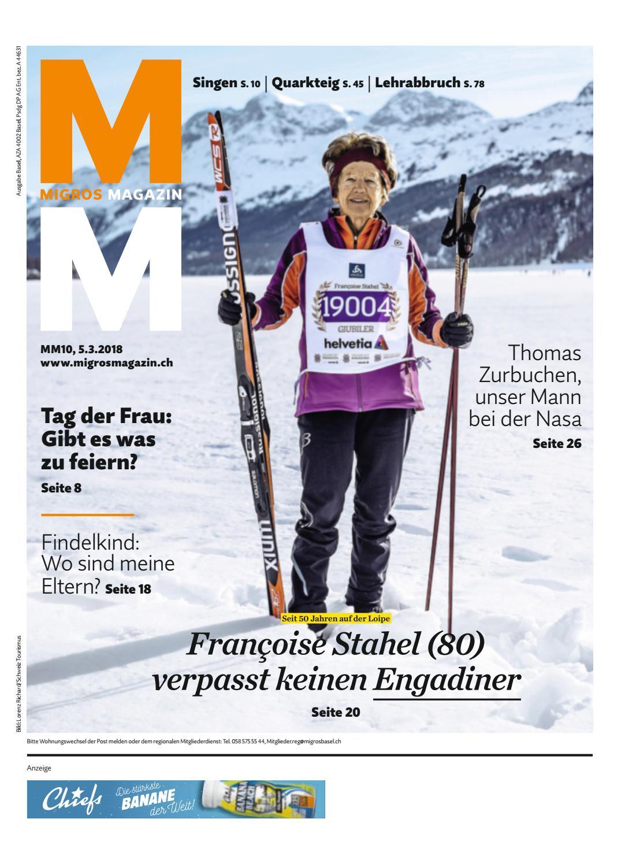 Migros Magazin 10 2018 D Bl By Migros Genossenschafts Bund   Issuu