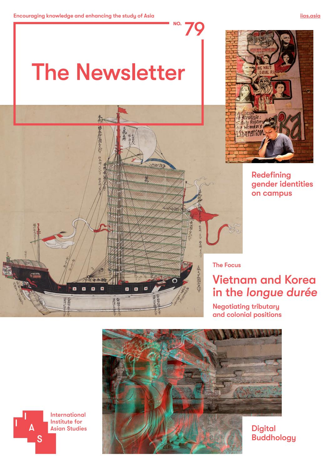 The Newsletter 79 Spring 2018 By International Institute For Asian Novel Burned Alive Oleh Souad Studies Issuu