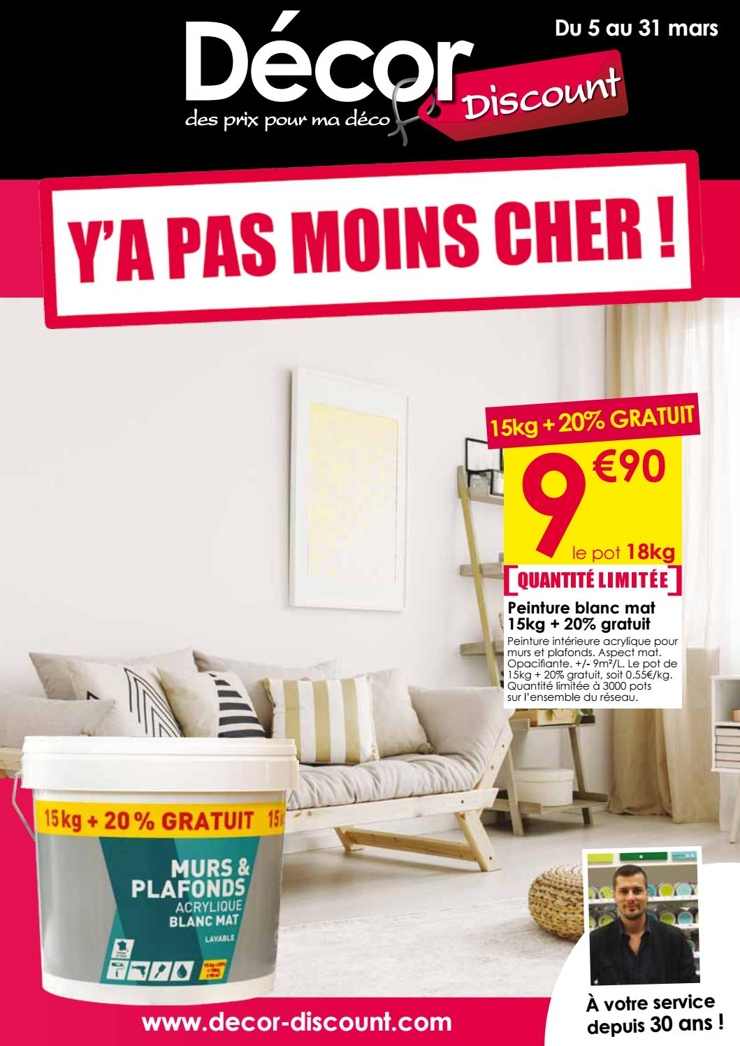 Prospectus Y A Pas Moins Cher By Decor Discount Issuu