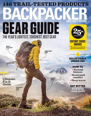 18682b5a87c2 146 TRAIL-TESTED PRODUCTS. GEAR GUIDE THE YEAR S LIGHTEST ...
