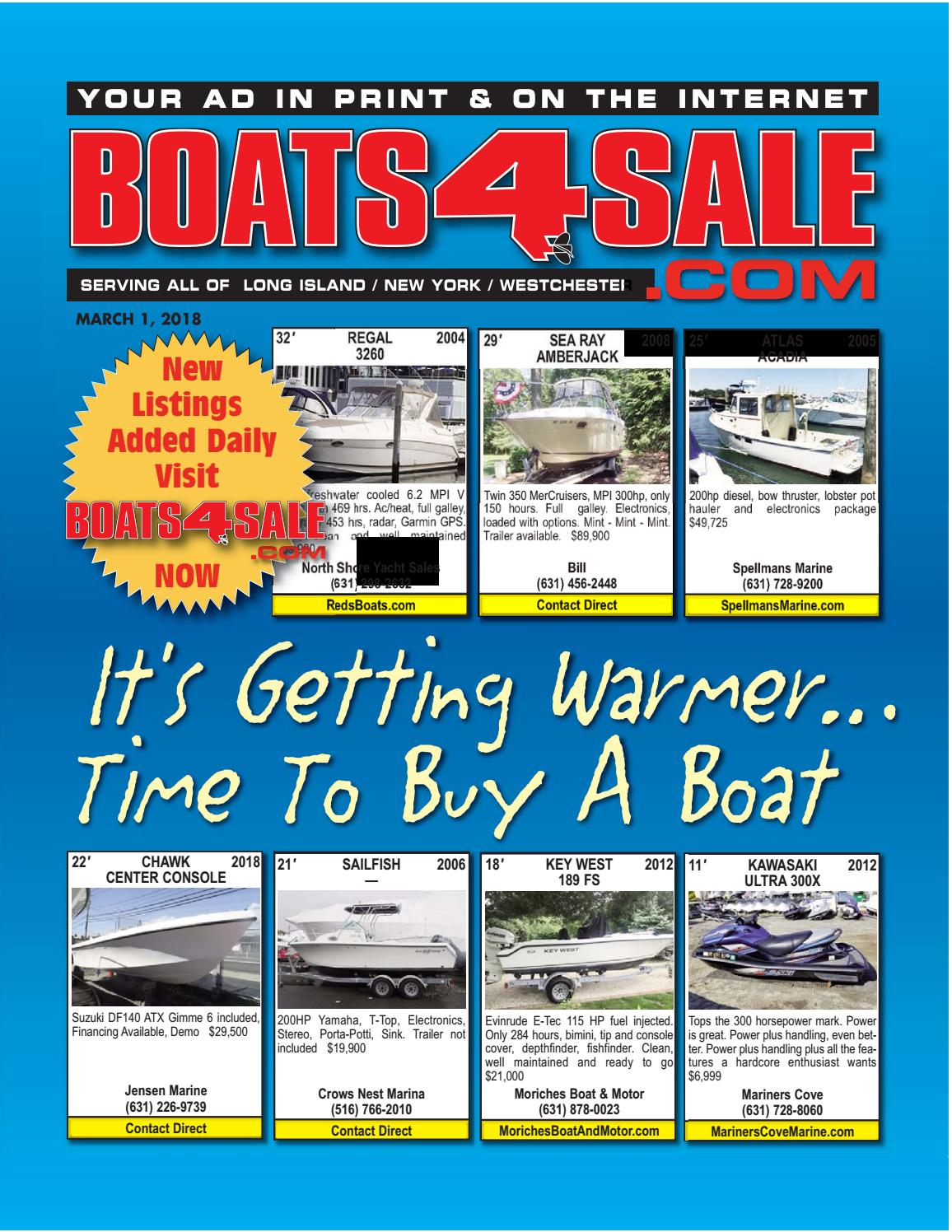 March 1, 2018 boats4sale by Boats4Sale com Media - issuu
