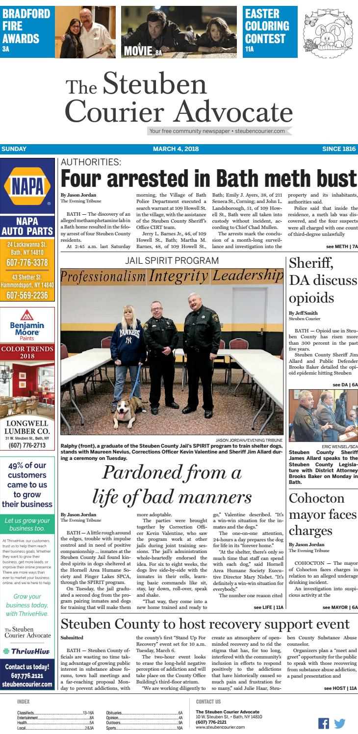 Steuben Courier 03 04 18 by The Steuben Courier Advocate - issuu