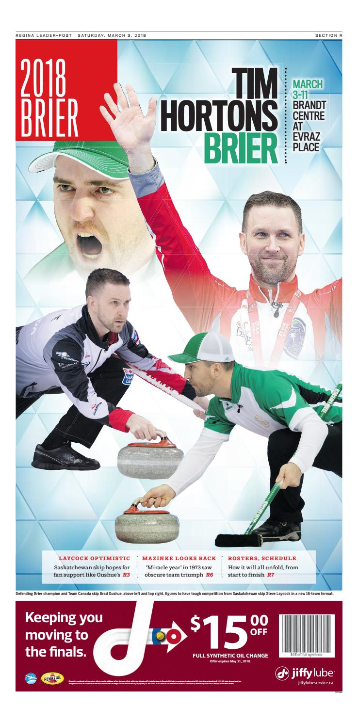 Lp Brier 2018 By Postmedia Saskatchewan Issuu