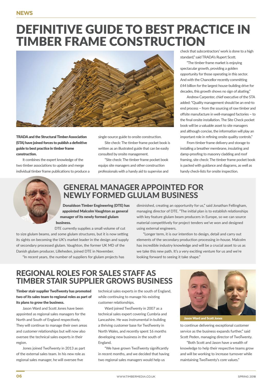 Timber Construction Magazine Issue 3 Spring 2018 by Timber Media ...