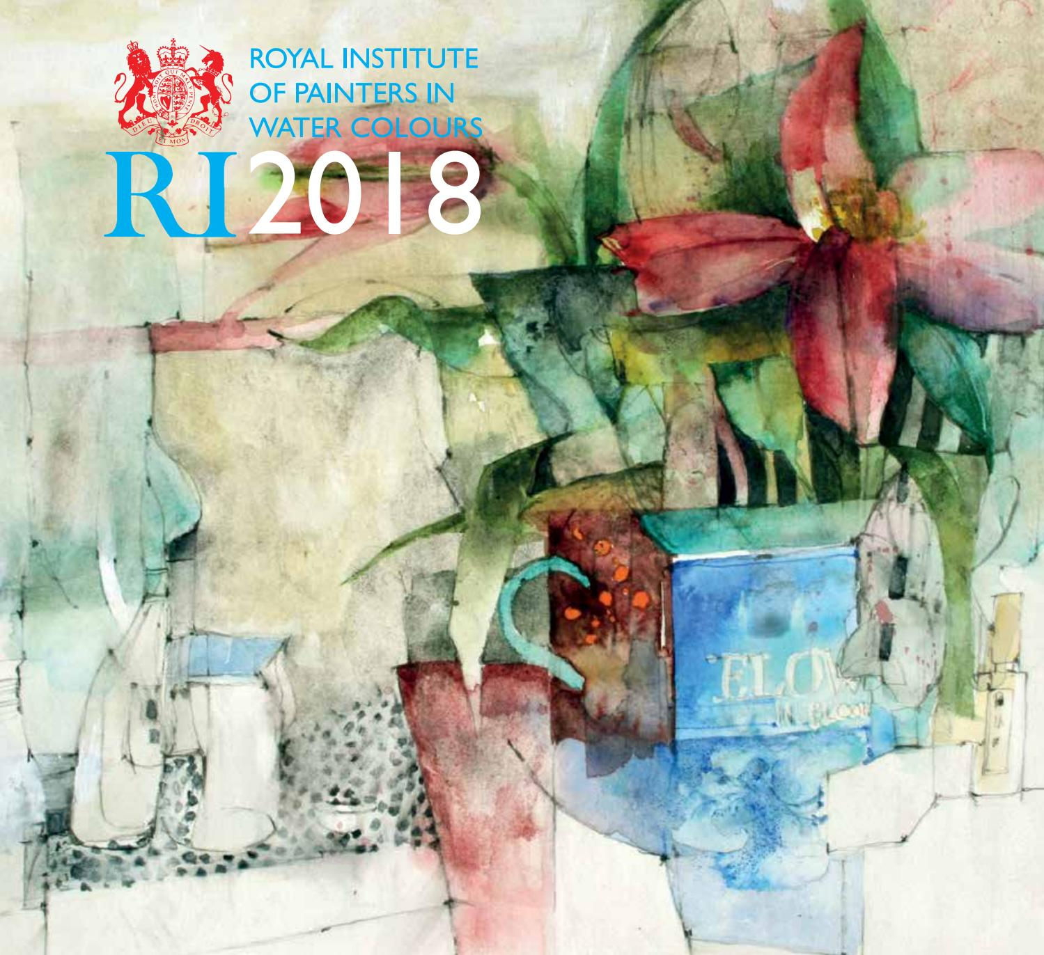 Royal Institute of Painters in Water Colours 2018 by Mall Galleries ...