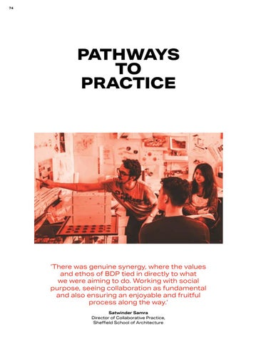 Page 74 of Pathways to Practice