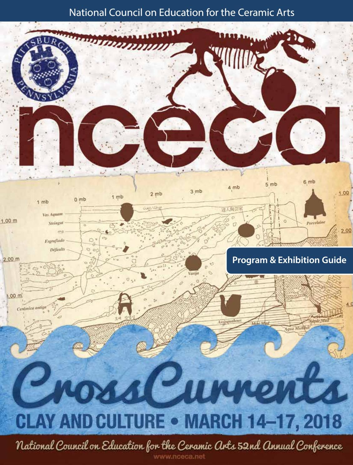 2018 NCECA Conference Program Guide by NCECA - issuu