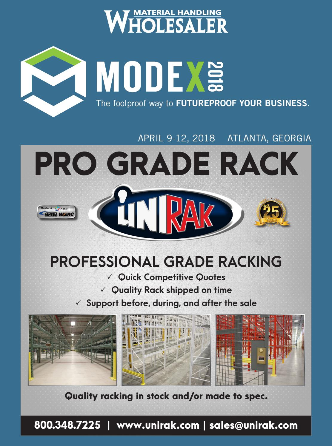 MODEX 2018 Supplement by Material Handling Wholesaler - issuu