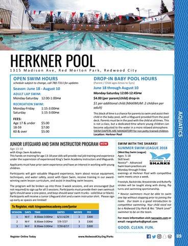 Page 89 of Summer Aquatics