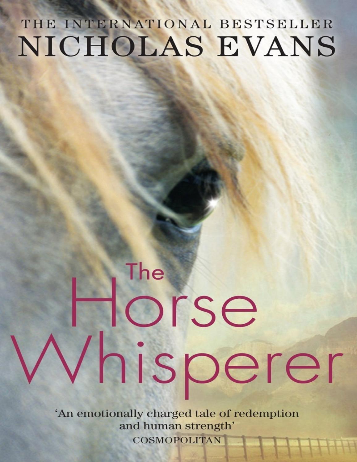 The Horse Whisperer Nicholas Evans By Sonam Issuu