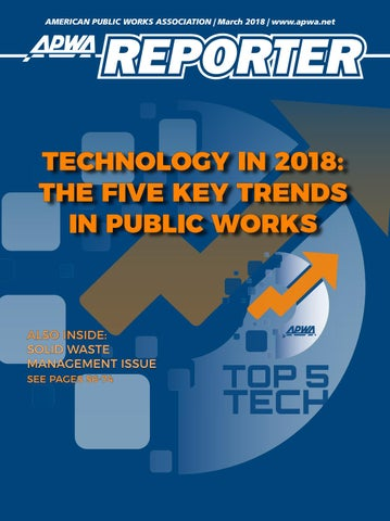 Apwa reporter march 2018 issue by american public works association page 1 publicscrutiny Images