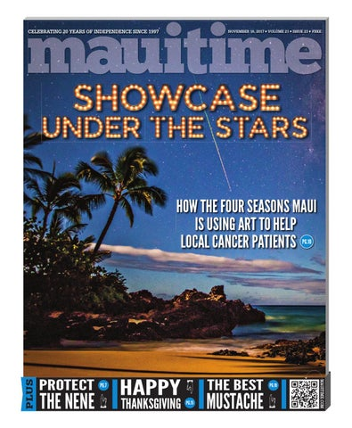 12c6f70980 21.23 Four Seasons Showcase Under The Stars November 16, 2017, Volume 21,  Issue 23, MauiTime