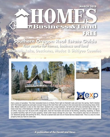 Homes Business and Land March 2018 by Herald and News - issuu on