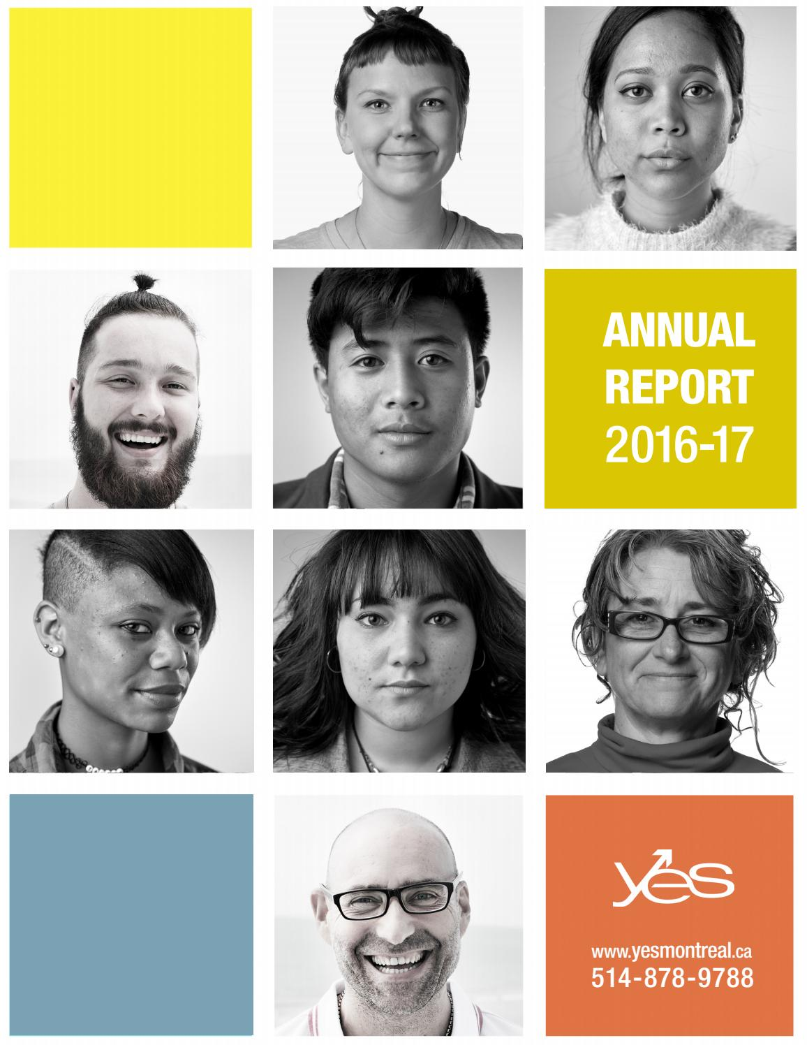 YES Annual Report 2016-17 by Youth Employment Services (YES