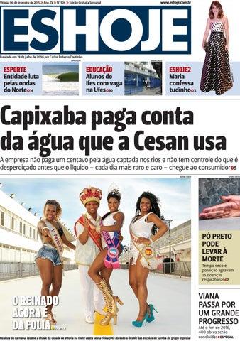 0a17c8a42d Jornal ES Hoje Nº 526 by Portal Academia do Samba - issuu