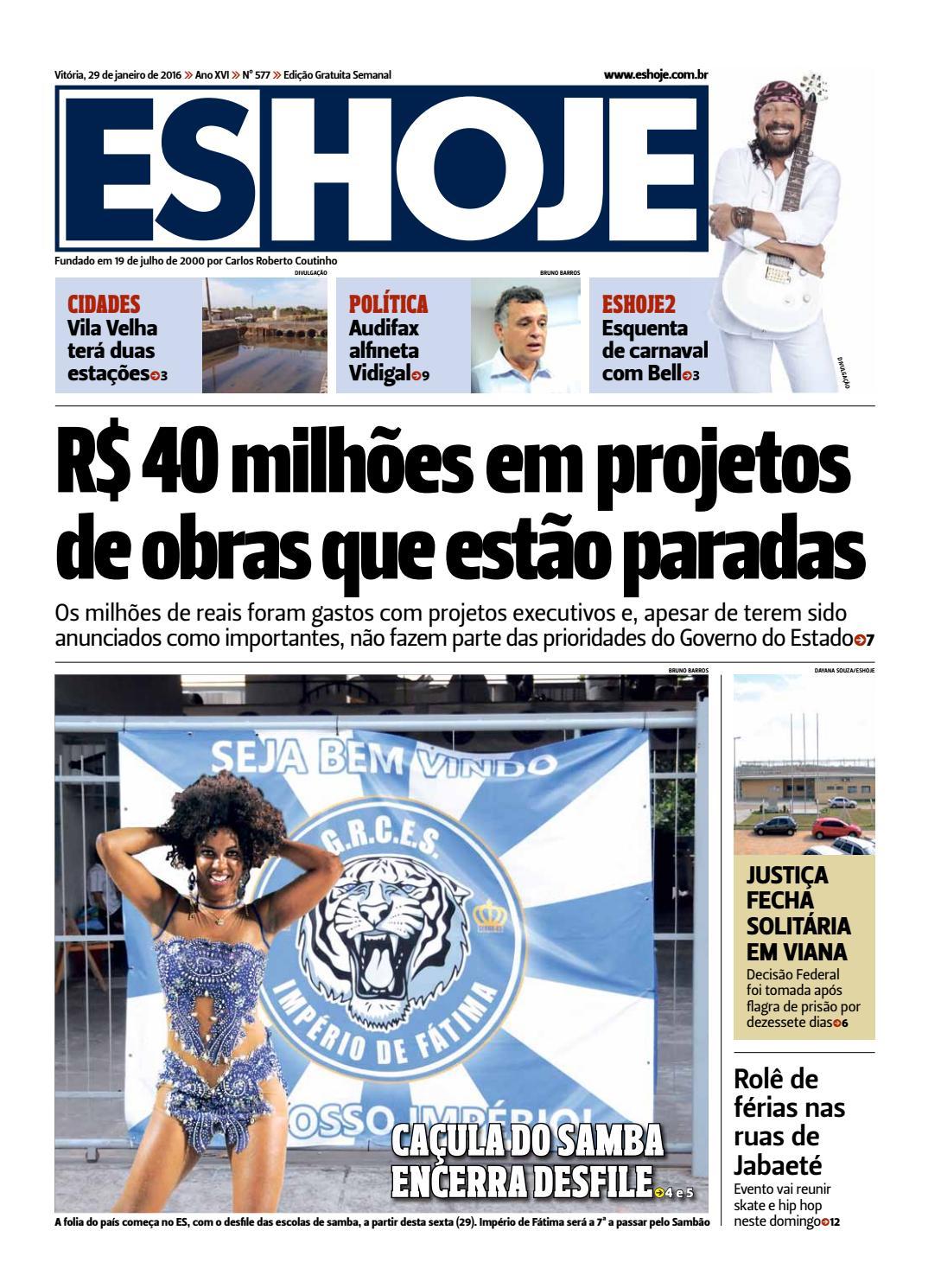 Jornal ES Hoje Nº 577 by Portal Academia do Samba - issuu 9cbc2e36580
