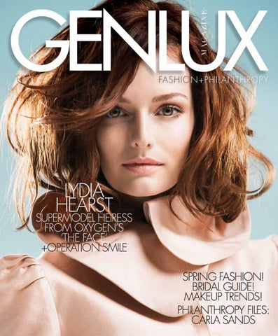 GENLUX - LYDIA HEARST by GENLUX - issuu